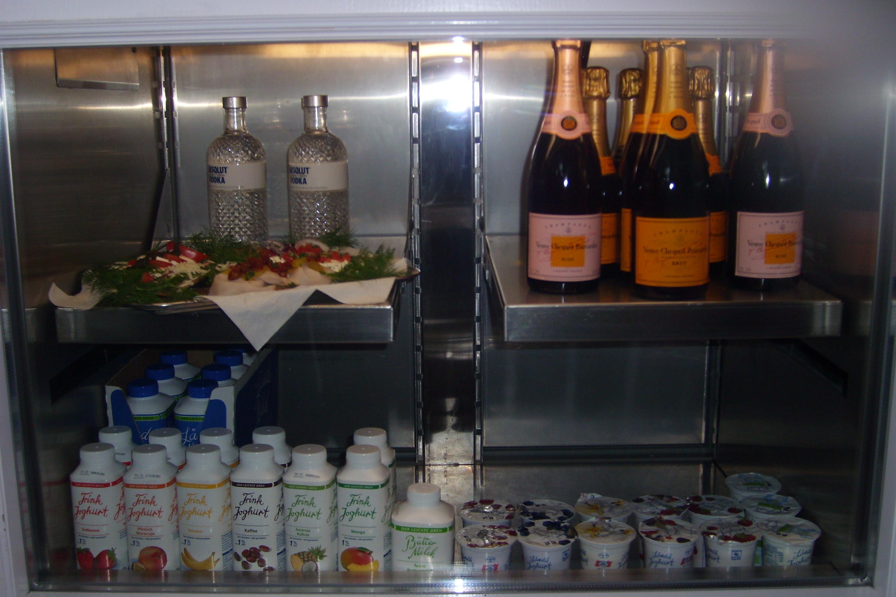 kulinarisches Angebot der Milchbar