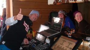 DJ Fritz beim Après Ski