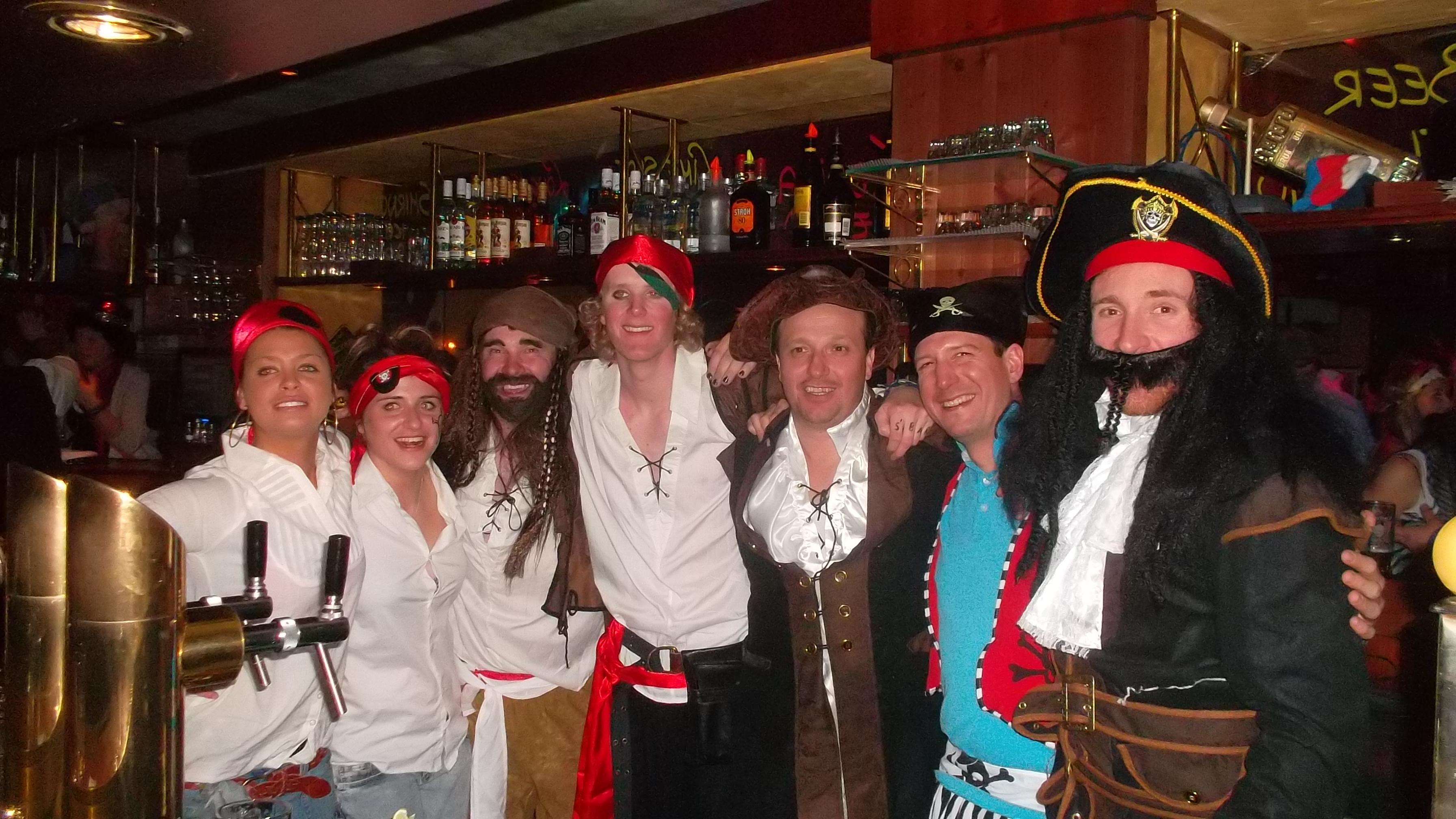 Die Staff vom Bobo's 2011/12