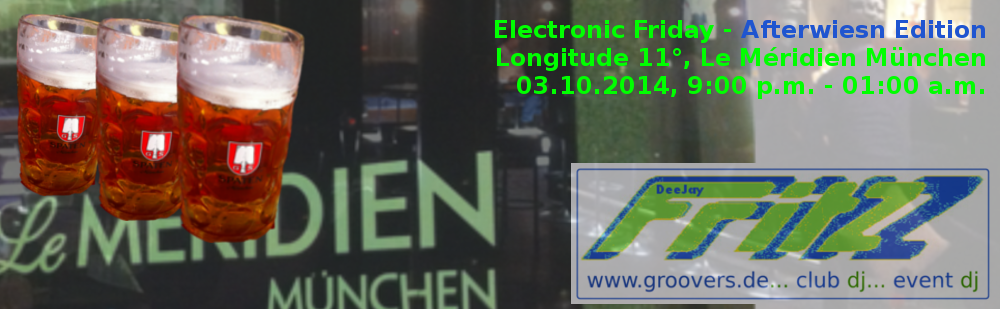 DJ Fritz beim Electronic Friday