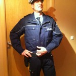 uniformierter Polizist