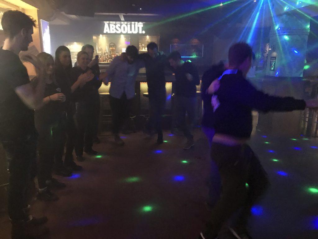 Bobos Team beim Zorba Dance